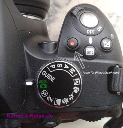Filmen mit der Nikon D3200